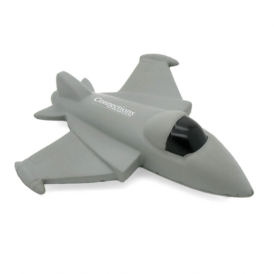 Fighter Jet Stress Ball Alternate Front View