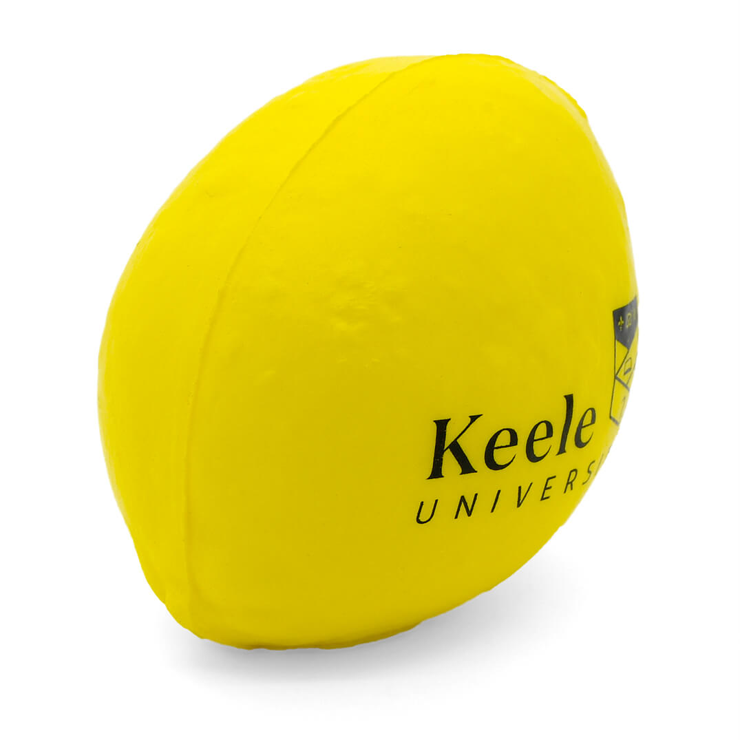 Lemon Stress Ball Angled View
