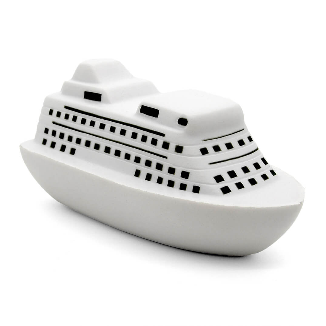 Ocean Liner Stress Ball Alternate Front View