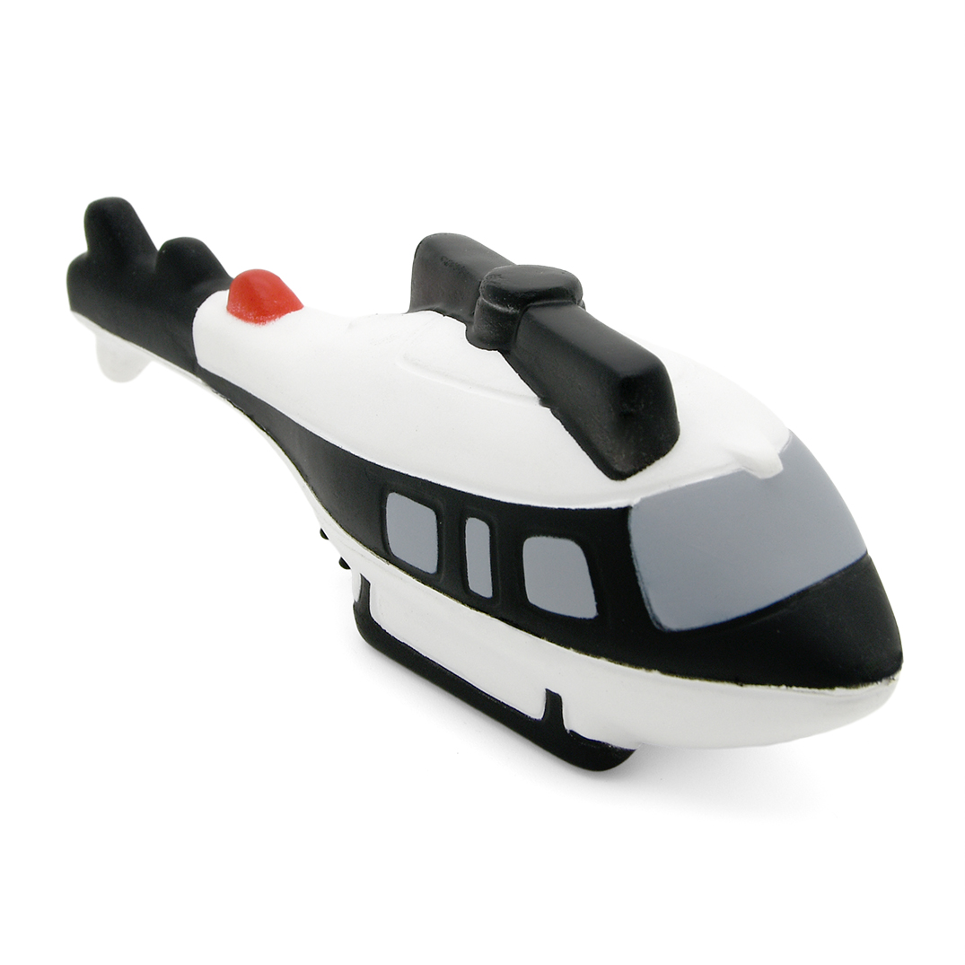 Helicopter Stress Ball Alternate Front View