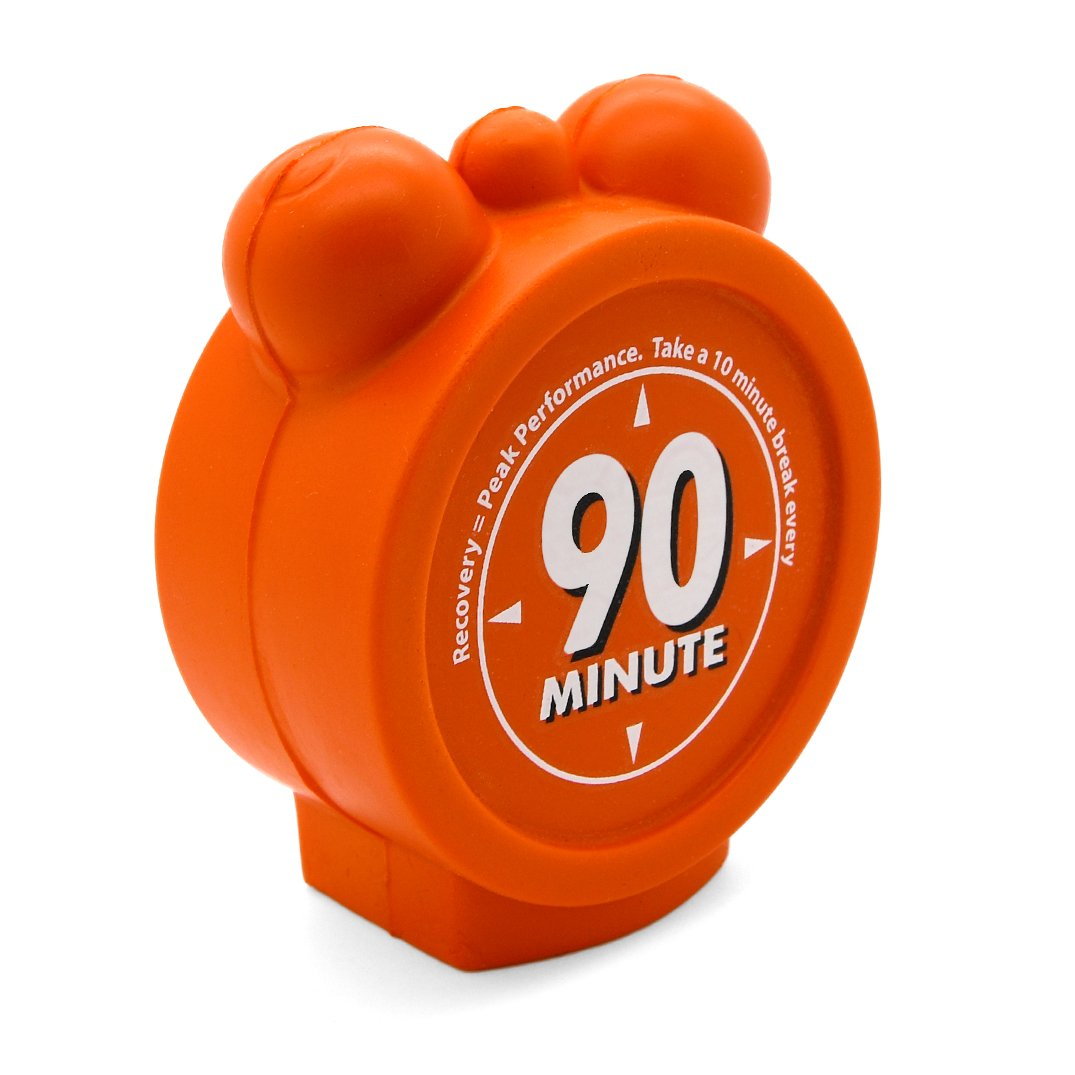 Alarm Clock Stress Ball Alternate Front View