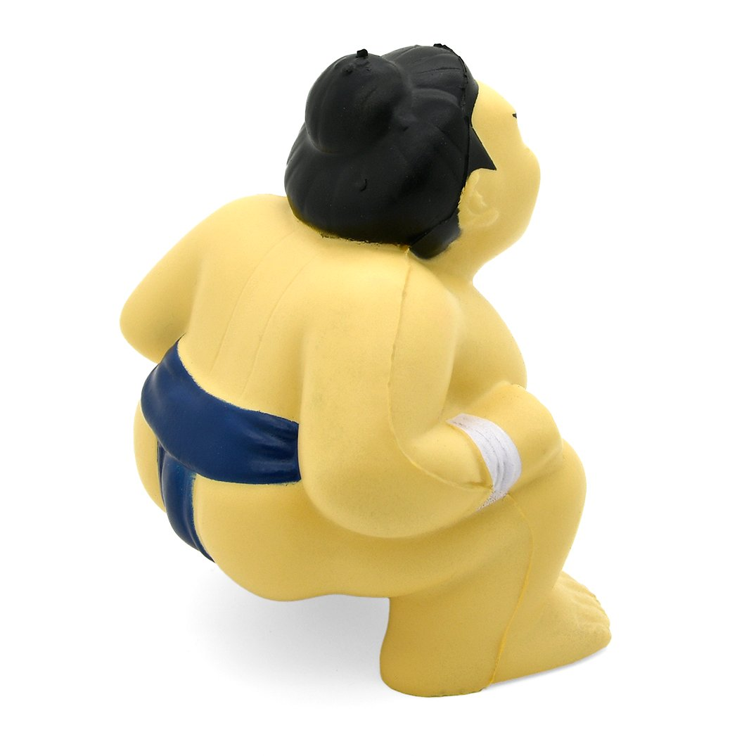 Stress Sumo Wrestler Rear View Alternate