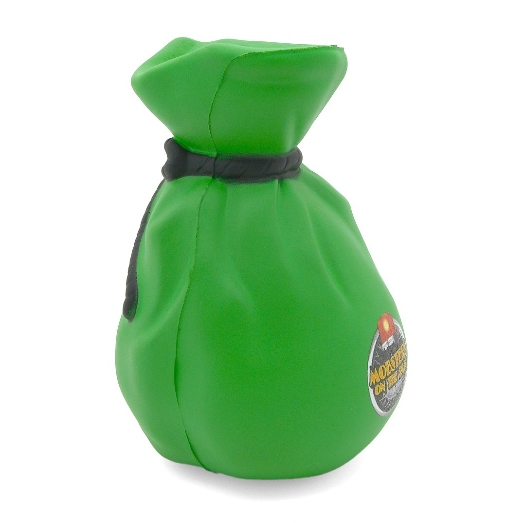 Money Bag Stress Ball Side View Alternate