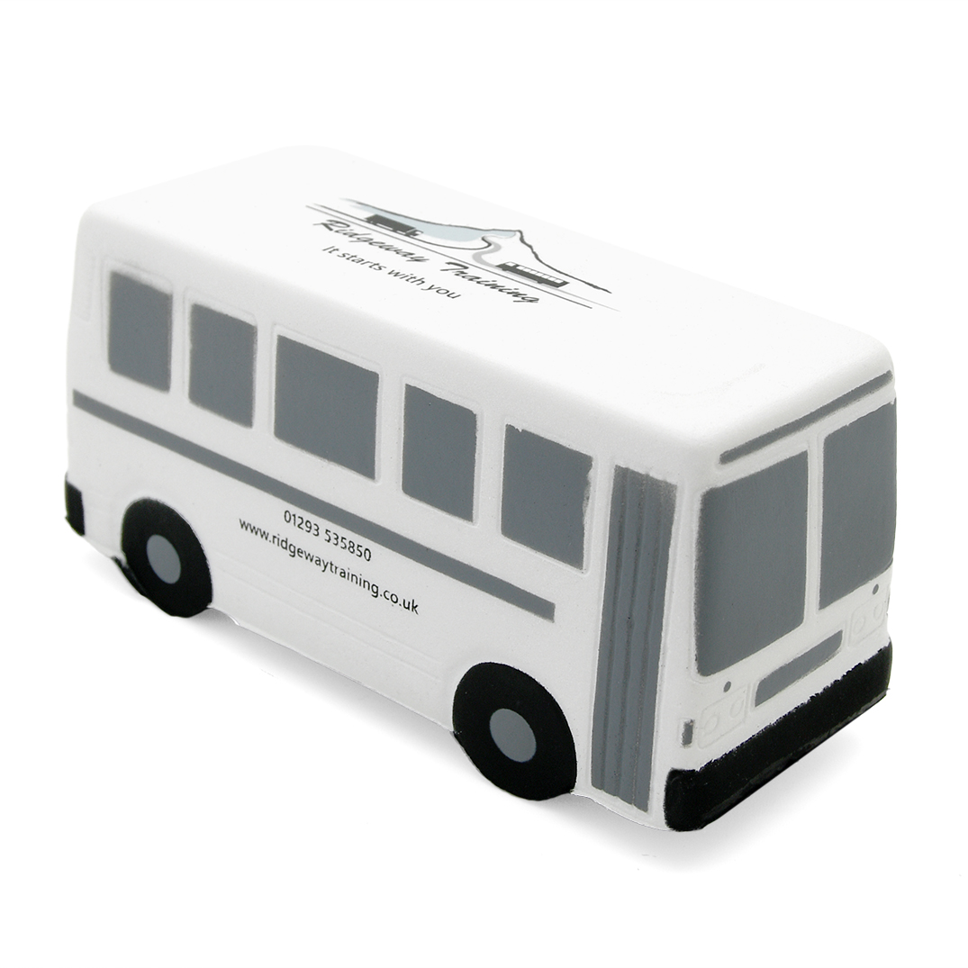 Bus Stress Ball Alternate Front View