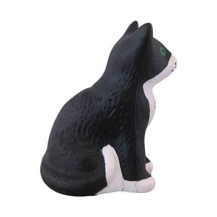 Side View Cat Stress Ball