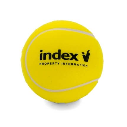 Index Pi Stress Tennis Ball Front View