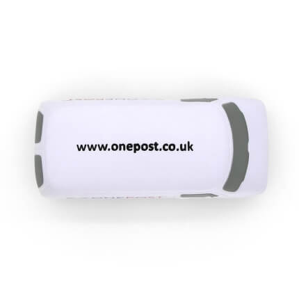 White Van Stress Ball Overhead View