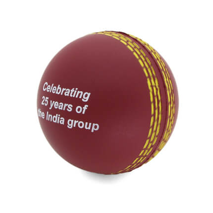 Stress Cricket Ball Side View