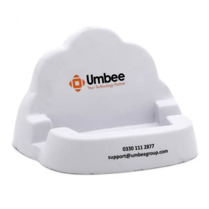Cloud Phone Holder Stress Ball Alternate Side View