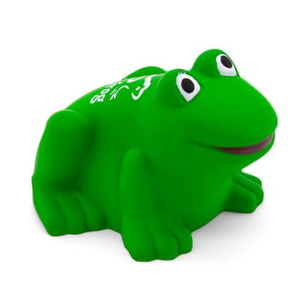 Frog Stress Ball Side View