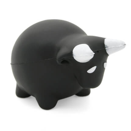 Chunky Bull Stress Ball Alternate View