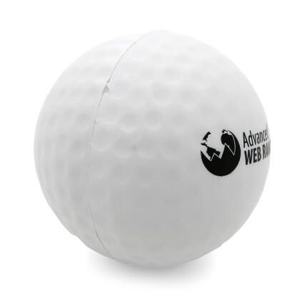 Golf Ball Alternate Side View