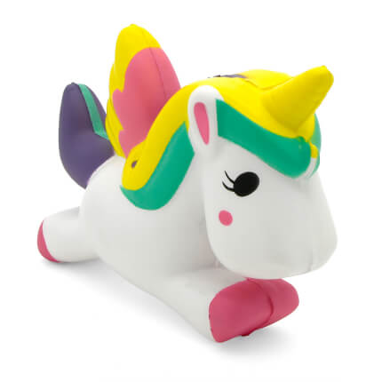 Unicorn Stress Ball Alternate Front View