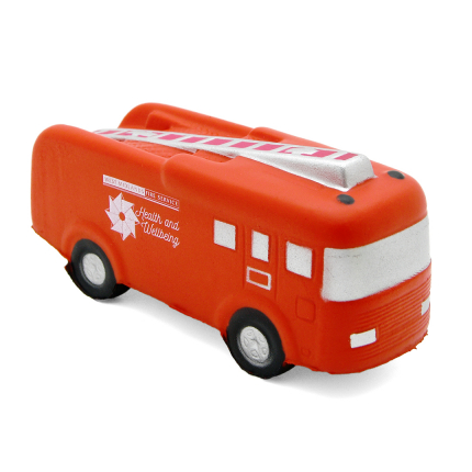 Fire Engine Stress Ball Alternate Front View
