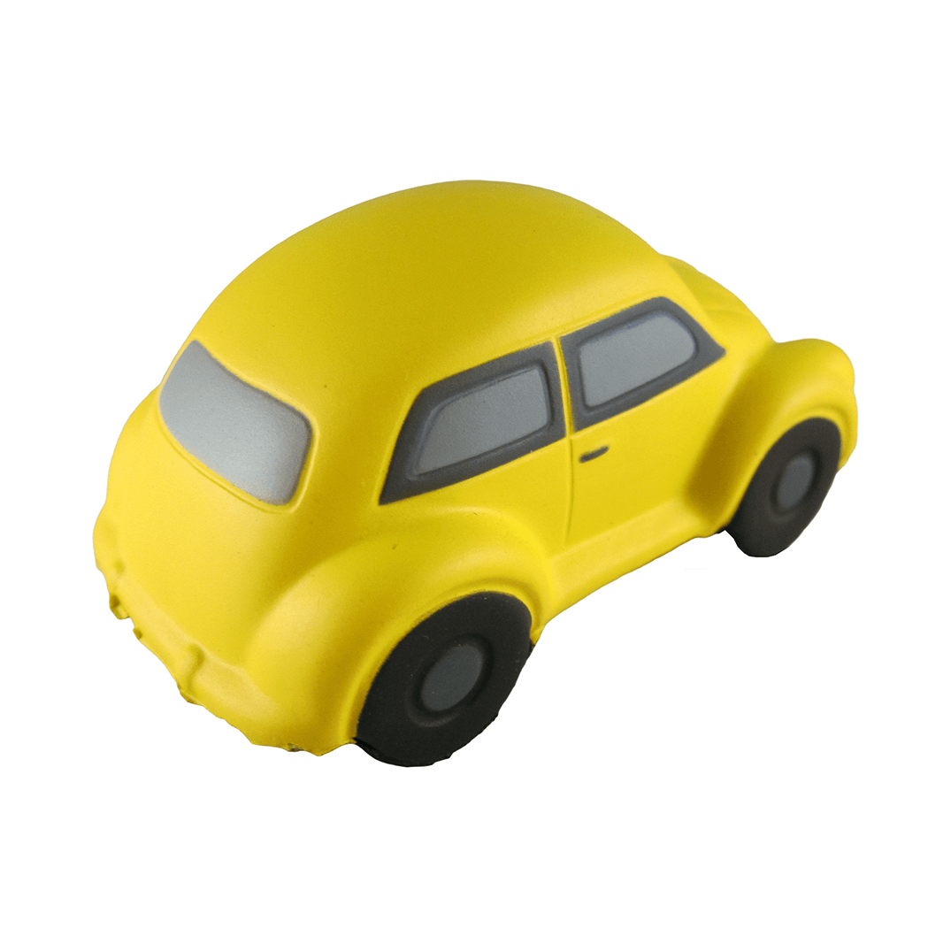 VW Stress Beetle Yellow