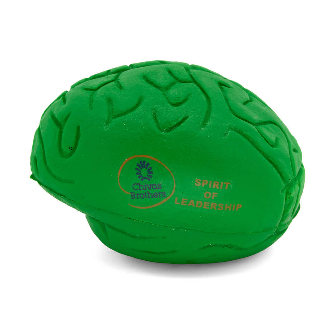 Small Green Stress Brain