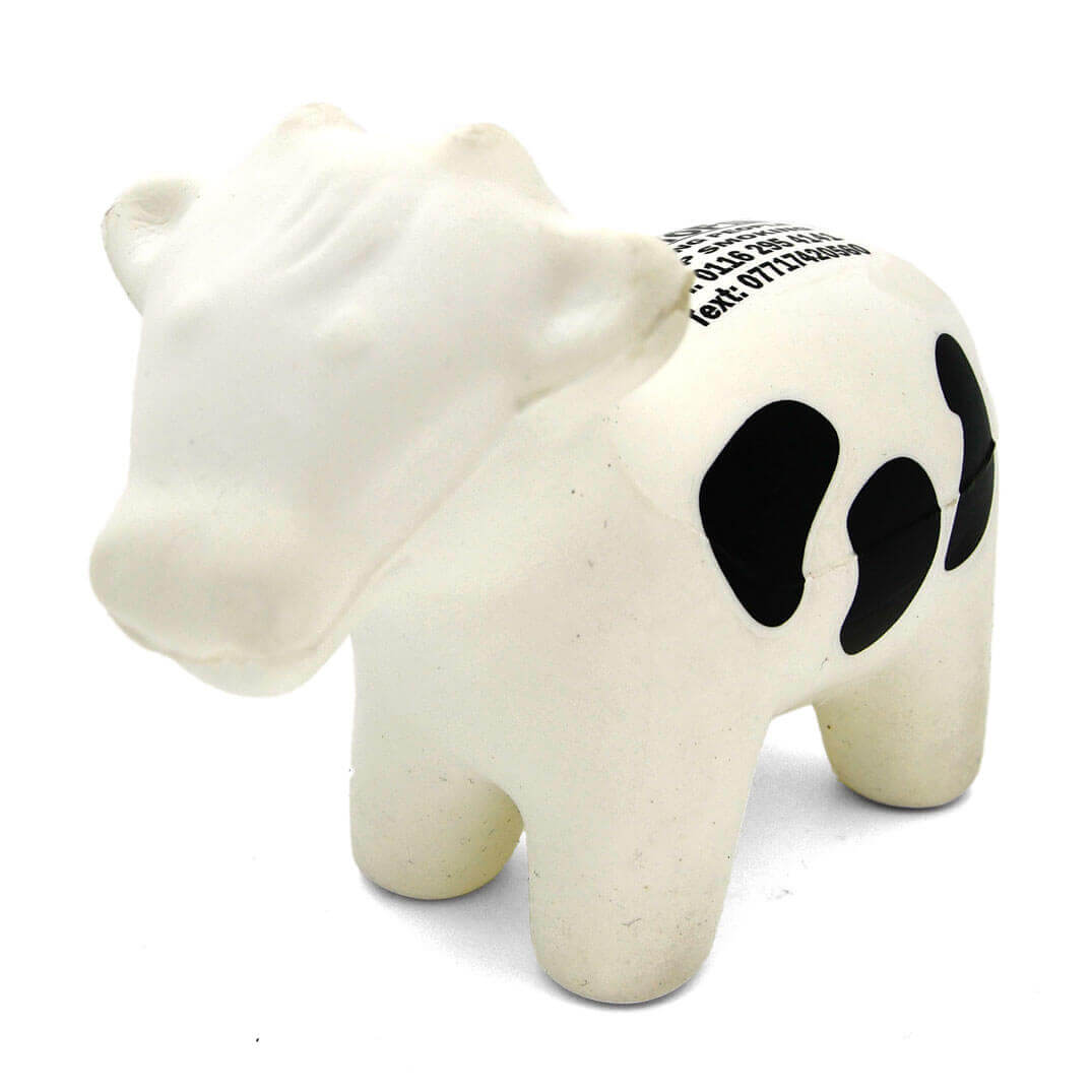 Black and White Stress Cow