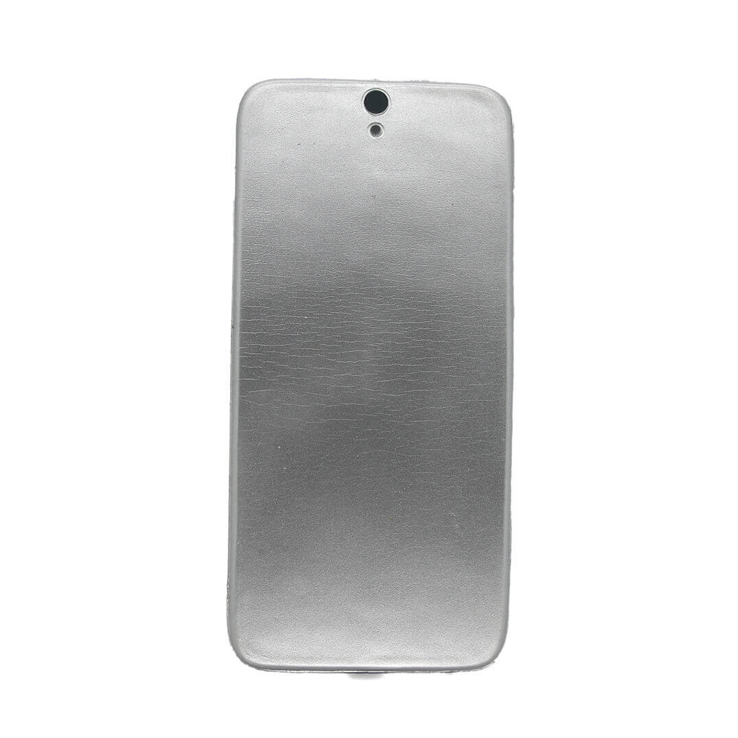 Silver Stress Smartphone Rear View Standing