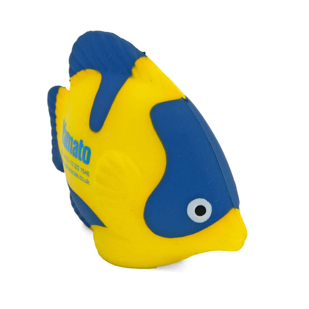Tropical Fish Stress Ball Front View