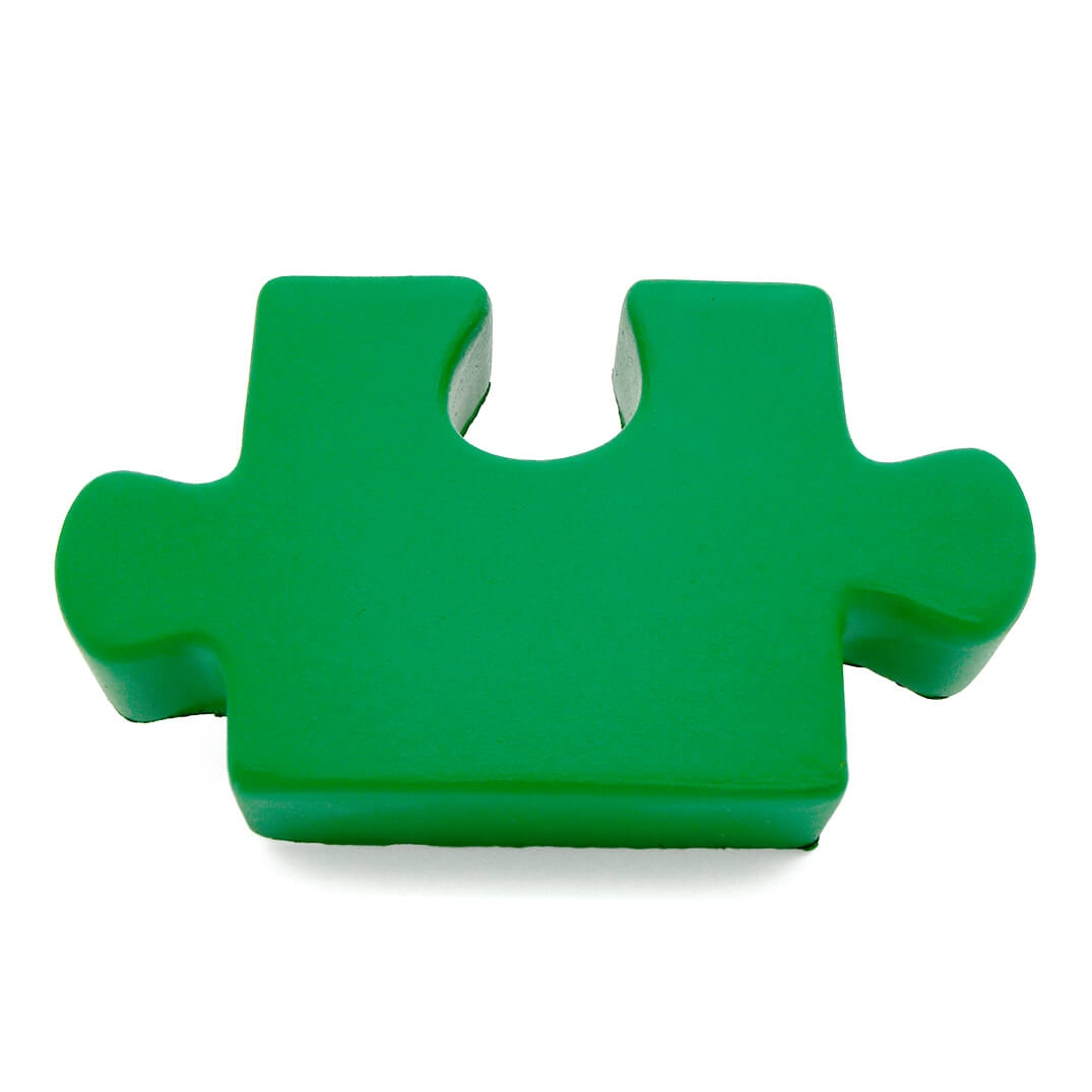 Green Stress Jigsaw Piece