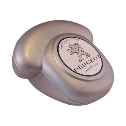 Desk Telephone Stress Ball in Silver