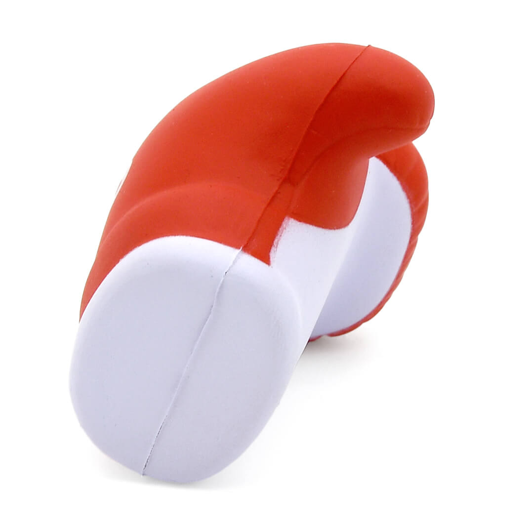 Boxing Glove Stress Ball End View