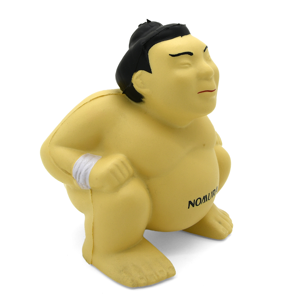 Stress Sumo Wrestler Side View Alternate