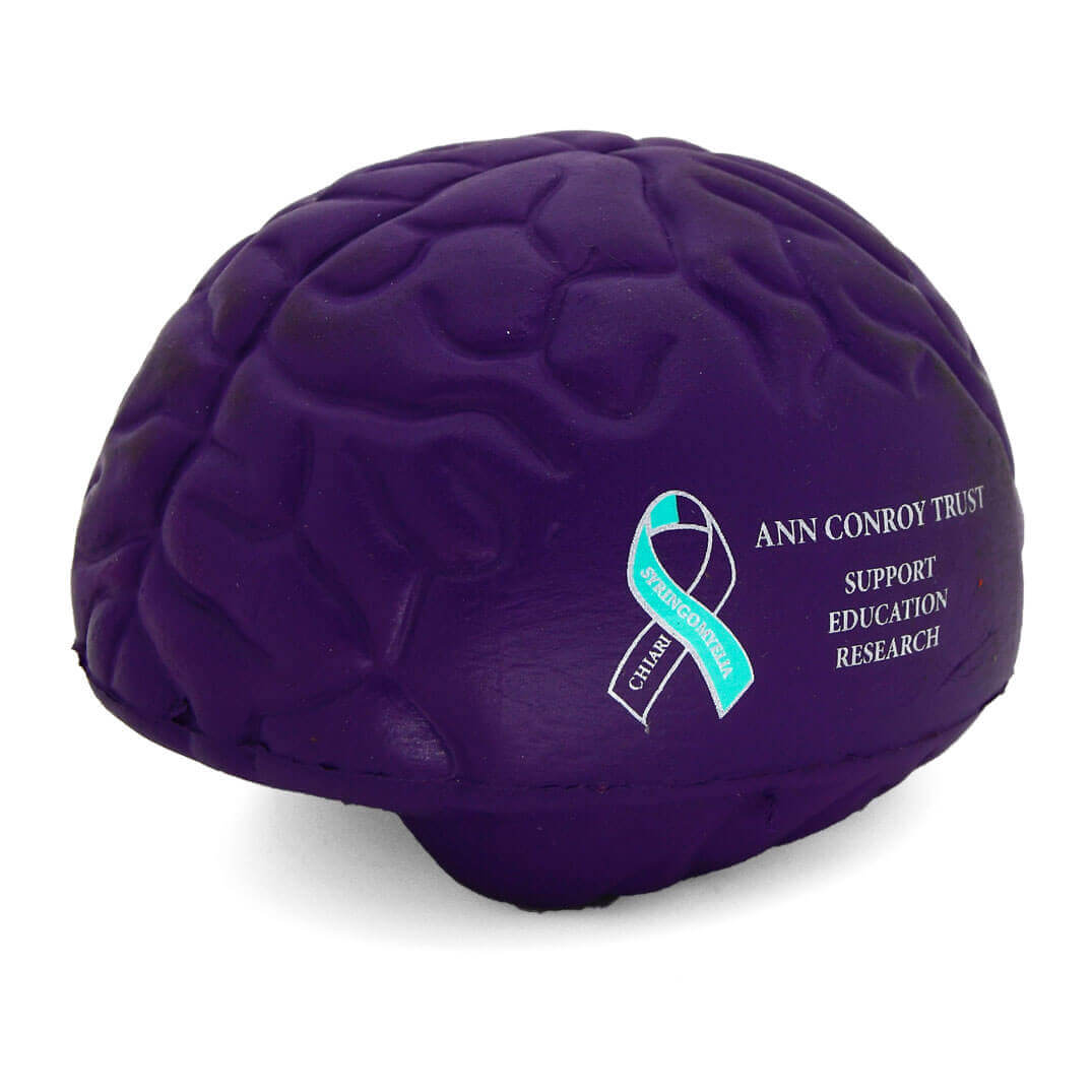Ann Conroy Trust Large Purple Stress Brains