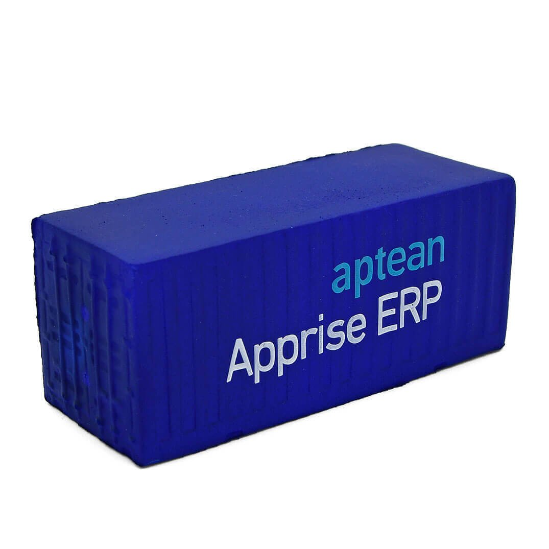 Aptean Printed Shipping Container