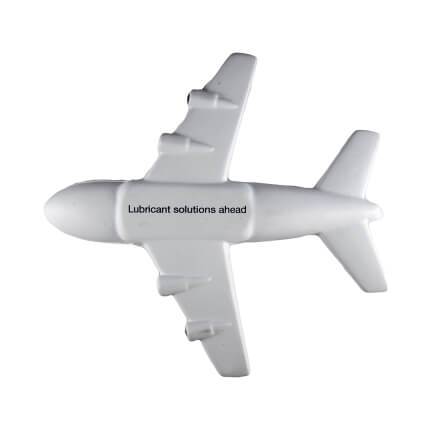 A380 Aeroplane Stress Ball Underside View
