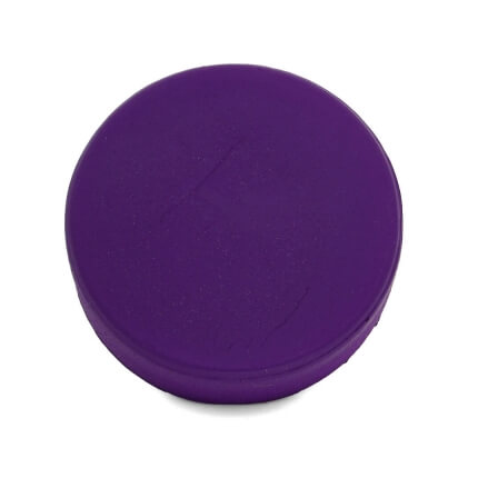 Purple Hockey Puck Stress Ball