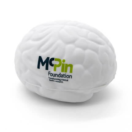 Small Brain Stress Ball Side View