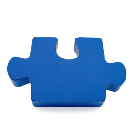 Blue Stress Jigsaw Piece